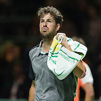 ABN AMRO World Tennis Tournament, Rotterdam, The Netherlands, 13 februari, 2017, Robin Haase (NED)<br /> Photo: Henk Koster