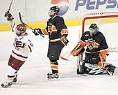 Chris Collins, Brian Carthas, Eric Leroux - Boston College defeated Princeton University 5-1 on Saturday, December 31, 2005 at Magness Arena in Denver, Colorado to win the Denver Cup.  It was the first meeting between the two teams since the Hockey East conference began play.