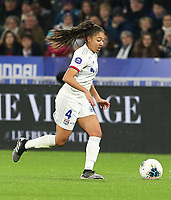 20191116 – LYON ,  FRANCE ; Lyon's Selma Bacha is with the ball during a women's soccer game between Olympique Lyonnais and PARIS SG on the 9th matchday of the French Women's first league , D1 of the 2019-2020 season , Saturday 16 th November 2019 at the Groupama stadium in Lyon , France . PHOTO SPORTPIX.BE   SEVIL OKTEM