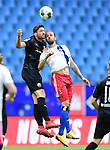 v.l. Tim Kister, Martin Harnik (HSV)<br />Hamburg, 28.06.2020, Fussball 2. Bundesliga, Hamburger SV - SV Sandhausen<br />Foto: Tim Groothuis/Witters/Pool//via nordphoto<br /> DFL REGULATIONS PROHIBIT ANY USE OF PHOTOGRAPHS AS IMAGE SEQUENCES AND OR QUASI VIDEO<br />EDITORIAL USE ONLY<br />NATIONAL AND INTERNATIONAL NEWS AGENCIES OUT