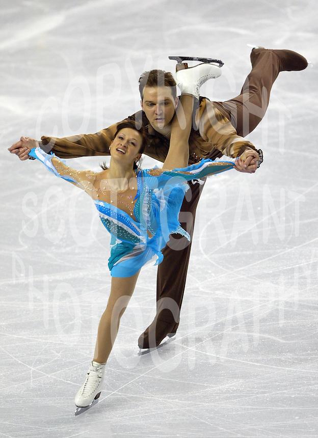 Tatiana Volosozhar And Stanislav Morozov Ukraine 2006 World Figure Skating Championships Calgary Photo Scott Grant
