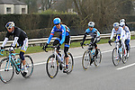 The riders including Johan Van Summeren (BEL) Garmin Sharp pass near Zwevegem during the 56th edition of the E3 Harelbeke, Belgium, 22nd  March 2013 (Photo by Eoin Clarke 2013)
