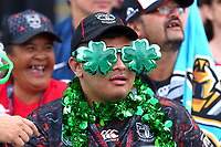 Warriors fans. Vodafone Warriors v Gold Coast Titans, NRL Rugby League round 2, Mt Smart Stadium, Auckland. 17 March 2018. Copyright Image: Renee McKay / www.photosport.nz