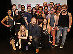The cast attends the Meet and Greet for Broadway's 'Gettin' the Band Back Together' on May 4, 2018 at Manhattan Movement & Arts Center in New York City.