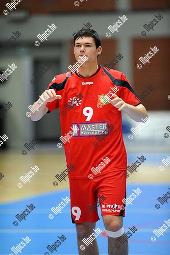 2012-09-15 / Handbal / seizoen 2012-2013 / Sasja Antwerpen / Luca Groff..Foto: Mpics.be