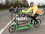 Anthony Connor from Pedal Power Delivery taking part in the Duleek Parish annual spotive cycle in aid of Duleek National School. Photo:Colin Bell/pressphotos.ie