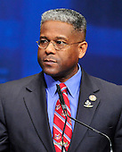 United States Representative Allen West (Republican of Florida) makes remarks at the 2012 CPAC Conference at the Marriott Wardman Park Hotel in Washington, D.C. on Friday, February 10, 2012..Credit: Ron Sachs / CNP