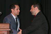 LOS ANGELES - SEP 30:  Matt McGorry, Ron Truppa at the Catalina Film Festival Awards at the Casino on Catalina Island on September 30, 2017 in Avalon, CA