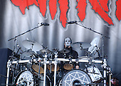 Slipknot Performs on Ozzfest 2005 for The Subliminal Verses World Tour (2004–2005)..Photo Credit: Eddie Malluk/AtlasIcons.com