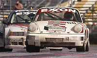 The #68 Porsche 911 Cup of Tim Vargo, Jack Refenning, John Maffucci, Brady Refenning, and Peter Uria races to a 25th place finish in the 24 Hours of Daytona, IMSA race, Daytona International Speedway, Daytona Beach , FL, February 4, 1996.  (Photo by Brian Cleary/www.bcpix.com)