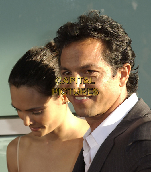 Talisa Soto & Benjamin Bratt .Attends Warner Brothers' World Premiere of Catwoman held at The Arclight Cinerama Dome Theatre in Hollywood, California on July 19,2004..portrait headshot.Ref: DVS.www.capitalpictures.com.sales@capitalpictures.com.©Capital Pictures.