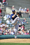 5 March 2009: Washington Nationals' starting pitcher Gustavo Chacin on the mound during a Spring Training game against the Detroit Tigers at Joker Marchant Stadium in Lakeland, Florida. The Tigers defeated the visiting Nationals 10-2 in the Grapefruit League matchup. Mandatory Photo Credit: Ed Wolfstein Photo