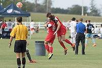 Lakewood Ranch, FL. - Thursday, December 3, 2015: U.S. Soccer Development Academy Winter Showcase and Nike International Friendlies at Premier Sports Campus.