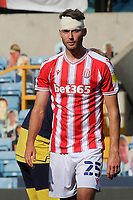 Stoke City's Nick Powell suffered a head injury in the first half during Millwall vs Stoke City, Sky Bet EFL Championship Football at The Den on 12th September 2020
