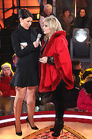 Linda Nolan, Emma Willis at Celebrity Big Brother 2014 - Contestants Enter The House, Borehamwood. 03/01/2014 Picture by: Henry Harris / Featureflash