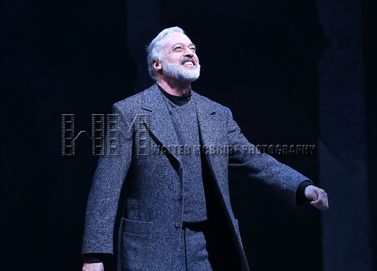 Tom Hewitt during the Broadway Opening Night Performance Curtain Call for 'Doctor Zhivago' at The Broadway Theatre on April 21, 2015 in New York City.