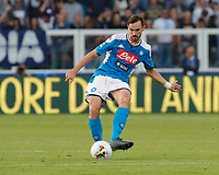 27th October 2019; Stadio Paolo Mazza, Ferrara, Emilia Romagna, Italy; Serie A Football, SPAL versus Napoli; Fabian Ruiz of Napoli plays the ball across midfield - Editorial Use