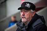 © Joel Goodman - 07973 332324 . 14/11/2015 . Manchester , UK . ALAN HARGRAVE , elected board member . FC United host Gainsborough Trinity in the National League North at Broadhurst Park . NB requested changing room access three times and was denied three times . Photo credit : Joel Goodman