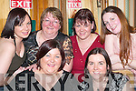 FAILTE: Celebrating Womens Christmas in the Failte Restaurant, Killarney, last Saturday night were, front l-r: Sandra McCarthy and Denise OSullivan. Back l-r: Joan McCarthy, Winnie McCarthy and Linda Ring, Farranfore, and Sinead Stack, Castleisland..