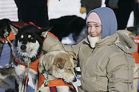 Sunday, February 25th, Willow, Alaska.  Jr. Iditarod