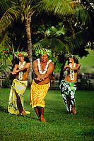 Tahitian Dancers, Hotel Beachcomber, Tahiti, French Polynesia