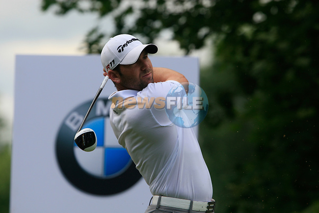 Sergio Garcia (ESP) tees off on the 16th tee during Day 2 of the BMW International Open at Golf Club Munchen Eichenried, Germany, 24th June 2011 (Photo Eoin Clarke/www.golffile.ie)