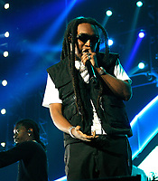 LOS ANGELES, CALIFORNIA - JUNE 22: Takeoff of Migos  performs at the 7th Annual BET Experience at L.A. Live Presented by Coca-Cola at Staples Center on June 22, 2019 in Los Angeles, California. Photo: imageSPACE/MediaPunch