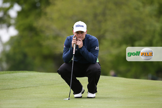 Tyrrell Hatton (ENG) during Round One of the 2016 Dubai Duty Free Irish Open Hosted by The Rory Foundation which is played at the K Club Golf Resort, Straffan, Co. Kildare, Ireland. 19/05/2016. Picture Golffile | David Lloyd.<br /> <br /> All photo usage must display a mandatory copyright credit as: &copy; Golffile | David Lloyd.