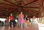 Thai Chi workshop in Auroville. 2012