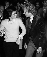 Billie Jean King and Vitas Gerulaitis at Studio54 197<br /> Photo By John Barrett/PHOTOlink