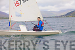 Gavin Walsh from the Atlantic S.C. taking part in the Inter Club regatta in Cahersiveen on Saturday.