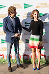 """Alvaro de la Lama and the spanish actress Hiba Abouk participates as sponsor in the third edition of """"Triathlon gifts """" organized by El Corte English in Madrid, December 03, 2015<br /> (ALTERPHOTOS/BorjaB.Hojas)"""