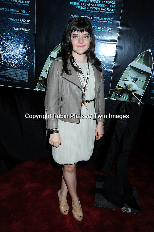"actress Madeleine Martin arriving at the Premiere of ""Jack Goes Boating"" on September 16, 2010 at The Paris Theatre in New York City."