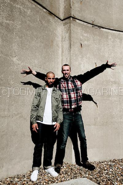 Dutch rappers The Opposites (Belgium, 29/04/2010)