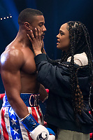 Creed II (2018) <br /> (Creed 2)<br /> Michael B. Jordan stars as Adonis Creed and Tessa Thompson as Bianca  <br /> *Filmstill - Editorial Use Only*<br /> CAP/MFS<br /> Image supplied by Capital Pictures