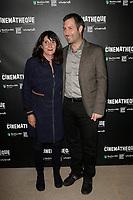 Sylvie PIALAT, Benoit QUAINON - Avant-Premiere du film LES GARDIENNES de Xavier Beauvois - La Cinematheque francaise - 1 decembre 2017 - Paris - France # AVANT-PREMIERE 'LES GARDIENNES' A PARIS