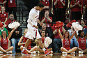 November 17, 2013: Shavon Shields (31) of the Nebraska Cornhuskers makes a basketball and is shooting two against the South Carolina State Bulldogs at the Pinnacle Bank Areana, Lincoln, NE. Nebraska defeated South Carolina State 83 to 57.