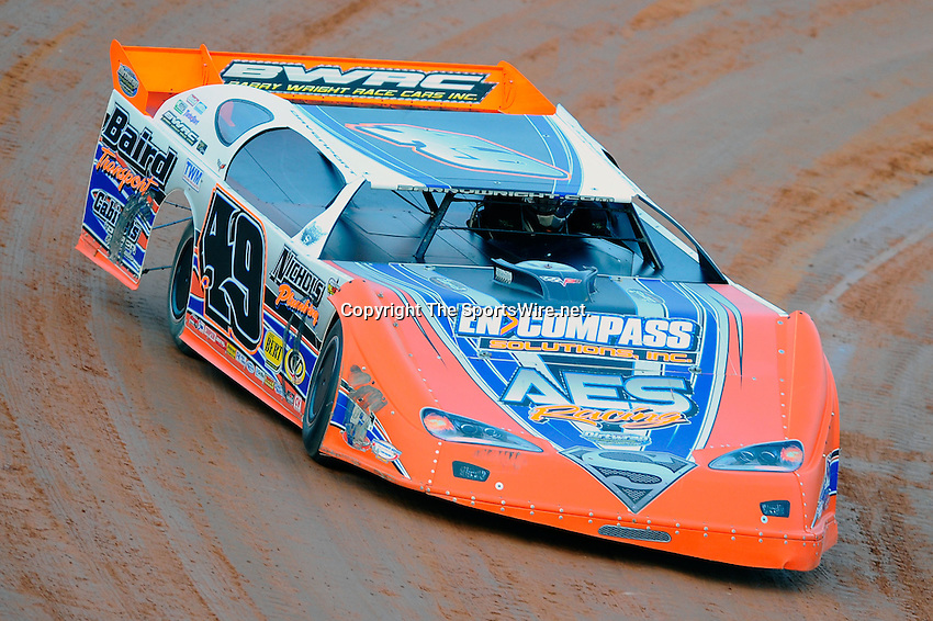 Jan 29, 2010; 5:41:02 PM; Waynesville, GA., USA; The Southern All Stars Racing Series running The Super Bowl of Racing VI at Golden Isles Speedway.  Mandatory Credit: (thesportswire.net)