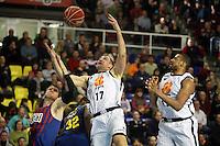 FC Barcelona Regal vs Uxue Bilbao Basket