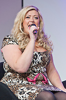 8th December 2012: TOWIE star and fashion designer Gemma Collins introduces her new range of clothing  at Clothes Show Live 2012 at the NEC, Birmingham, UK