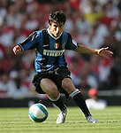 Inter's Daniele Pedrelliez in action. .Pic SPORTIMAGE/David Klein..Pre-Season Friendly..Arsenal v Internazionale..29th July, 2007..--------------------..Sportimage +44 7980659747..admin@sportimage.co.uk..http://www.sportimage.co.uk/