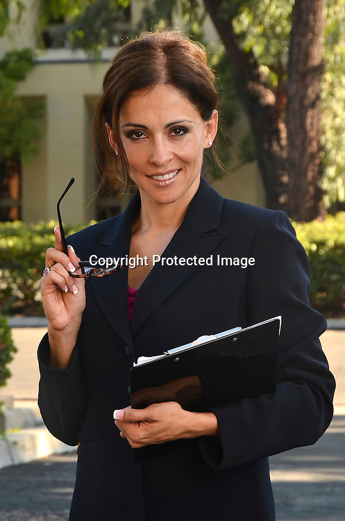 Stock photo of a hispanic business woman