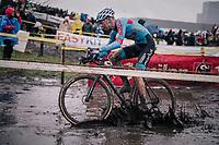 Dieter Vanthourenhout (BEL/Marlux-Bingoal)<br /> <br /> Superprestige cyclocross Hoogstraten 2019 (BEL)<br /> Elite Men's Race<br /> <br /> &copy;kramon