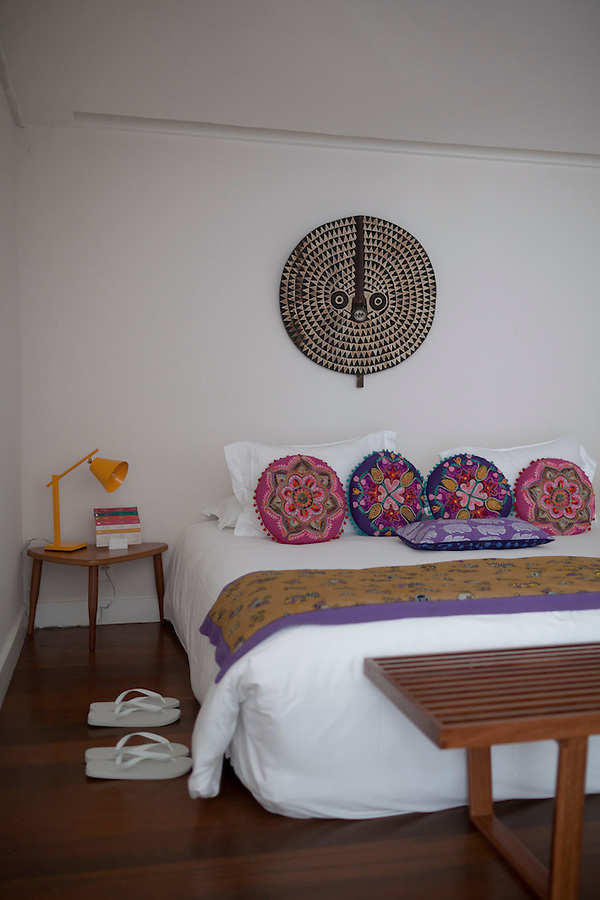 The Melissa Suite (have to double check on the name), named after a trendy Brazilian brand of womens shoes, at Insolito, in Buzios, Brazil.