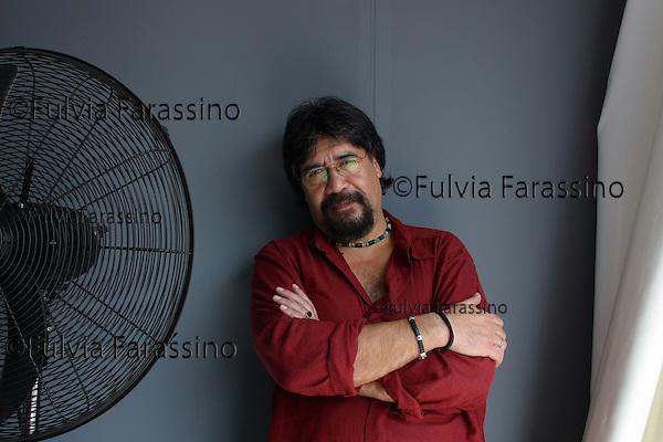 Venice, 06 september 2002.Luis Sepùlveda.Venice film festival