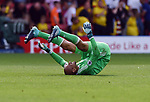 Watford goalkeeper Heurelho Gomes at the end of the premier league match at the Vicarage Road Stadium, Watford. Picture date 26th August 2017. Picture credit should read: Robin Parker/Sportimage