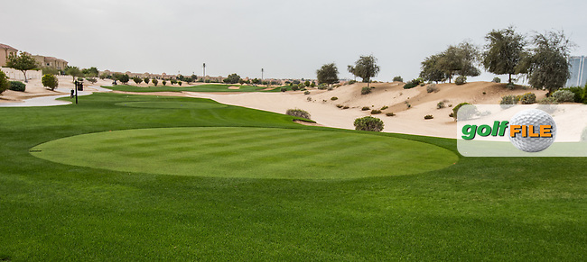 10th tee at The Els Club , Dubai, United Arab Emirates.  28/01/2016. Picture: Golffile   David Lloyd<br /> <br /> All photos usage must carry mandatory copyright credit (&copy; Golffile   David Lloyd)