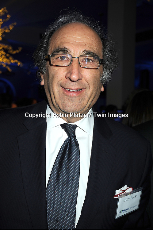 Andy Lack attends the UJA-Federation of New York's Leadership Awards  Steve J Ross Humanitarian Award Dinner honoring David Zaslav, President & CEO of Discovery on April 3, 2012 at 583 Park Avenue in New York City.