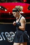 26.04.2018, Porsche-Arena, Stuttgart, GER, Porsche Tennis Grand Prix 2018, Achtelfinale, Laura Siegemund (GER) vs CoCo Vandeweghe (USA) im Bild Laura Siegemund (GER)<br /> <br /> Foto © nordphoto / Hafner