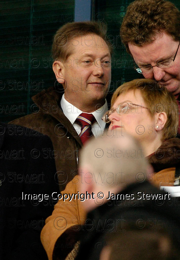 25/03/2006         Copyright Pic: James Stewart.File Name : sct_jspa08_falkirk_v_hearts.VLADAMIR ROMANOV TAKES HIS SEAT IN THE STAND....Payments to :.James Stewart Photo Agency 19 Carronlea Drive, Falkirk. FK2 8DN      Vat Reg No. 607 6932 25.Office     : +44 (0)1324 570906     .Mobile   : +44 (0)7721 416997.Fax         : +44 (0)1324 570906.E-mail  :  jim@jspa.co.uk.If you require further information then contact Jim Stewart on any of the numbers above.........